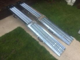 Brand New Heavy Duty Ramps That Hold 400kg Total Great For Mobility Scooter Only £100 - 6ft Long