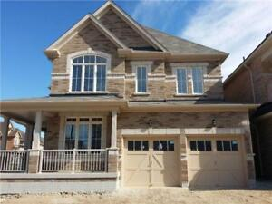 Gorgeous Brand New Fully Detached 4 Bed 4 Bath New Home For Rent