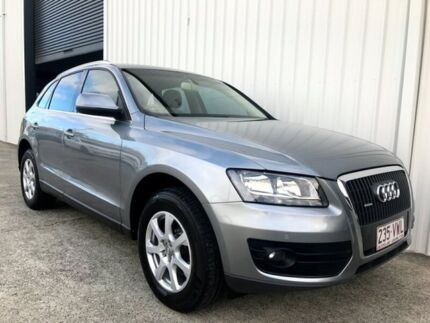 2009 Audi Q5 8R MY10 TFSI S tronic quattro Grey 7 Speed Sports Automatic Dual Clutch Wagon