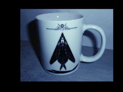 Vintage1992 Lockheed F-117A Nighthawk Stealth Bomber Hawker Aerospace Coffee Mug