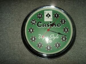 CASINO CLOCK Kingston Kingston Area image 1