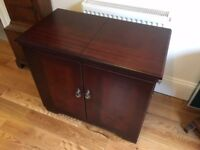 Philips HL6240 Mahogany Electric Hostess Trolley