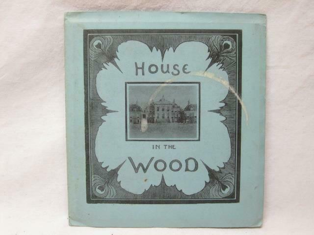 House In The Wood Netherlands Haag Hague Picture Views Book Booklet Vt Old Antiq