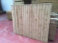 🌟 Great Quality Heavy Duty Pressure Treated Feather Edge Fence Panels