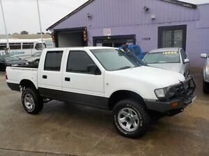 1999 Holden Rodeo TFR9 LX (4x4) White 5 Speed Manual Crewcab North St Marys Penrith Area Preview