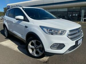 2017 Ford Escape ZG Trend PwrShift AWD White 6 Speed Sports Automatic Dual Clutch Wagon Kilmore Mitchell Area Preview