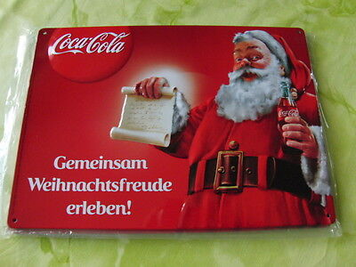 Coca Cola Blechschild,NEU,29cmx21cm