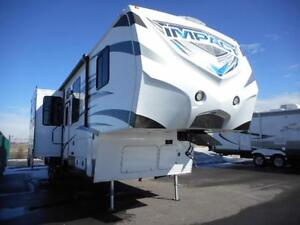 MAKE AN IMPACT WITH THE 2014 IMPACT IP386 5TH TOY HAULER