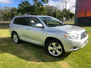 2008 Toyota Kluger GSU45R Grande (4x4) Silver 5 Speed Automatic Wagon Coonamble Coonamble Area Preview