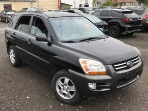 2008 KIA SPORTAGE LX 4 CYL. 2.0L + AIR CLIM FROIDE + MAGS