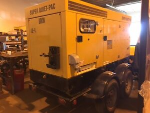 60Kw MOBILE SUPER QUIET-PAC GENERATOR