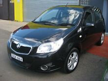 2010 Holden Barina TK MY10 Black 4 Speed Automatic Hatchback Camden Camden Area Preview