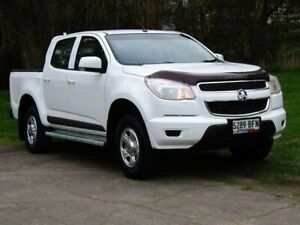 2015 Holden Colorado RG MY15 LS Crew Cab 4x2 White 6 Speed Sports Automatic Utility Littlehampton Mount Barker Area Preview