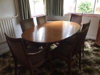G Plan Fresco Dining table set