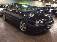 2008 JAGUAR X-TYPE 2.2 D SE SALOON DIESEL AUTOMATIC GREATDRIVE MOT BLACK NOT 5 3 SERIES C E CLASS S