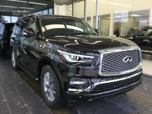 2018 Infiniti QX80 8 PASSENGER W/ LUXURY PACKAGE