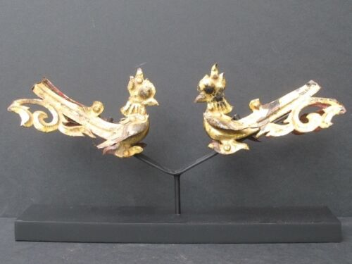 Elements Of Temple, Birds Gold Of Burma