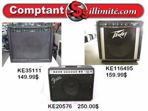 Amplificateur de guitare à bon prix chez Comptant illimite.com 819-822-7777
