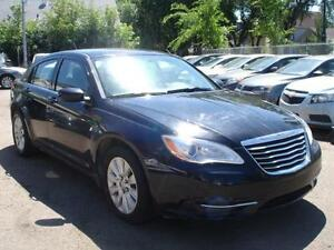 """ SALE THIS WEEK ""2013 CHRYSLER 200 AUTO LOADED 75K-100% FINANCE Edmonton Edmonton Area image 2"
