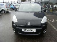 2014 14 PEUGEOT PARTNER 1.6 HDI TEPEE S 5D 92 BHP **** GUARANTEED FINANCE **** PART EX WELCOME