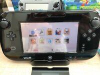 Nintendo Wii u Premium Console - Mario & Luigi 32 GB version, Boxed, plus 4 Games
