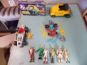 1980's KENNER GHOSTBUSTERS FIGURES AND TOYS