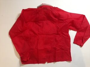 Vintage Eaton's Red Windbreaker.