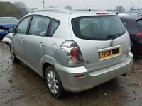 TOYOTA COROLLA VERSO 2.0 05 DIESEL BREAKING FOR SPARES TEL 07814971951 HAVE FEW IN STOCK