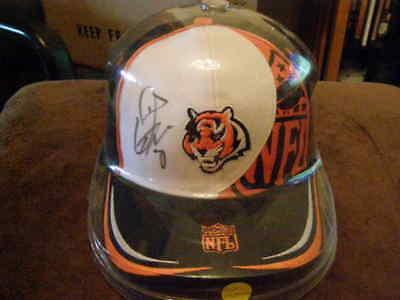 ODELL THURMAN Autographed Cincinnati Bengals Baseball Cap NFL W/ Plastic Wrap