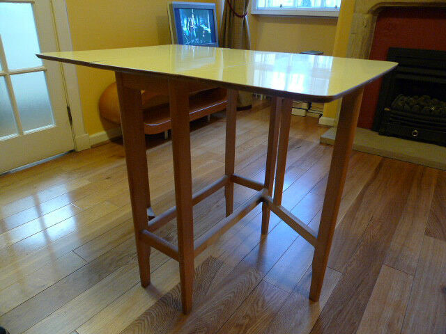 vintage formica topped kitchen table united kingdom gumtree