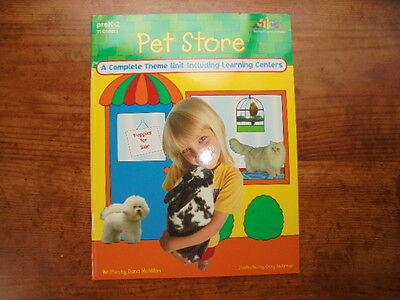 Theme Materials TLC Pet Store Activities Classroom Book Grade PreK K 1 2 School](Preschool Classroom Themes)