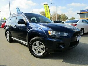 2011 Mitsubishi Outlander ZH MY11 LS Blue 6 Speed Constant Variable Wagon Welshpool Canning Area Preview