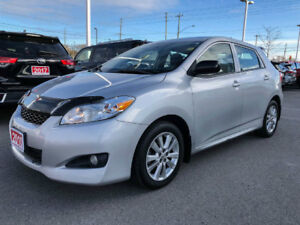 2010 Toyota Matrix ONE OWNER+BOUGHT AND SERVICED HERE!