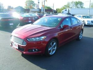 2013 FORD FUSION SE- SUNROOF, NAVIGATION SYSTEM, REAR VIEW CAMER