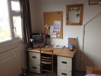 Quiet furnished study bedroom. OX1.