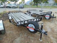 2016 Mirage 5X13 UTV / ATV Trailer w. Ramps and Spare Tire