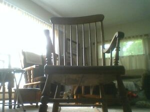 Antique Rocking chair For Sale For $40 Dollars Or Best Offer
