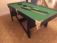 Snooker Table, 6 foot size