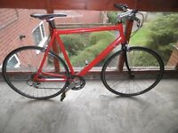 LIGHTWEIGHT LARGE RALEIGH ROAD BIKE ( NOT FIXIE )