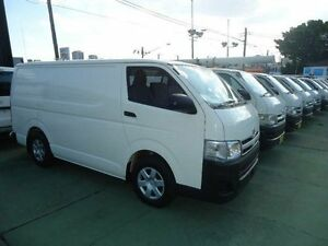 2011 Toyota Hiace TRH201R MY11 Upgrade LWB White 5 Speed Manual Van Canada Bay Canada Bay Area Preview