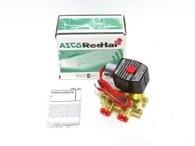 38 Asco Ef 8321g002 3w Nc 24dc Solenoid Valve New In Box