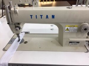 Titan, single needle, straight stitch industrial sewing machine