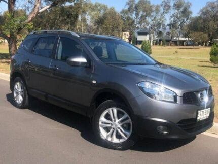 2013 Nissan Dualis J107 Series 4 MY13 +2 Hatch X-tronic 2WD ST Grey 6 Speed Constant Variable Hillcrest Port Adelaide Area Preview