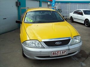 2001 Ford Falcon AU II XL Super Cab Yellow 4 Speed Automatic Cab Chassis Capalaba West Brisbane South East Preview