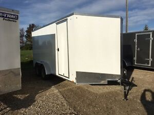 Pace 7x16 Ramp Door trailer