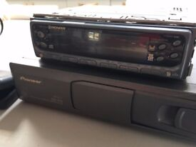 Pioneer DEH-P724R CD player with 6 x CD interchanger and remote control