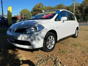 2008 Nissan Tiida C11 MY07 ST-L White 4 Speed Automatic Sedan Clontarf Redcliffe Area Preview
