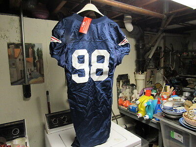 NEW ENGLAND PATRIOTS  GAME WORN NFL FOOTBALL JERSEY