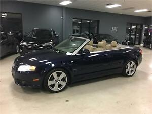 2007 Audi A4 2.0T CONVERTIBLE S-LINE BOSE SOUND SYSTEM!!