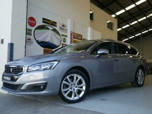 2016 Peugeot 508 MY15 Allure Charcoal Grey Sports Automatic Wagon Rydalmere Parramatta Area Preview